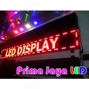 LED Display Running Text