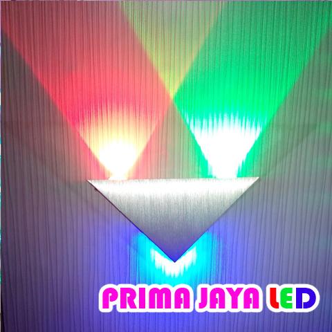 LED Interior Dinding Segitiga