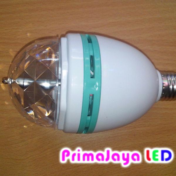 Bohlam LED disko Putar RGB
