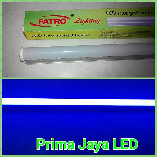 Lampu Neon T5 LED Warna Biru