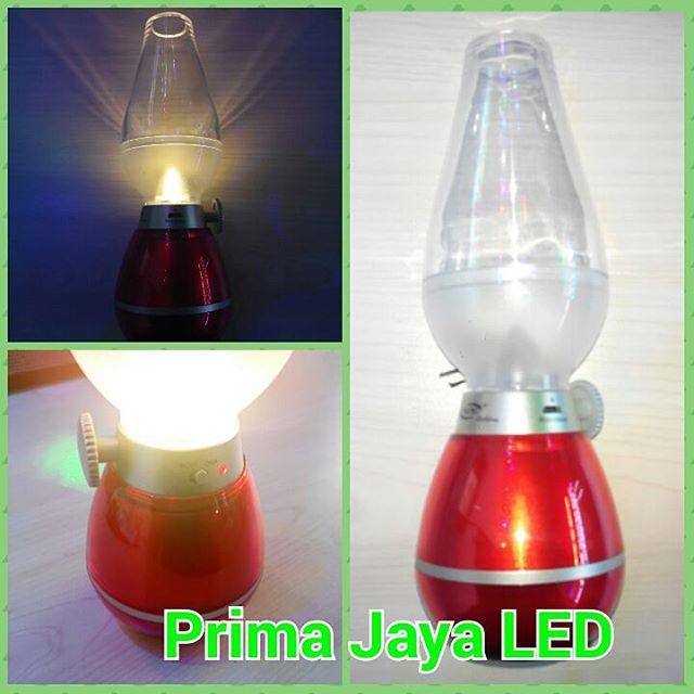 LED Emergency USB Model Lampu Minyak