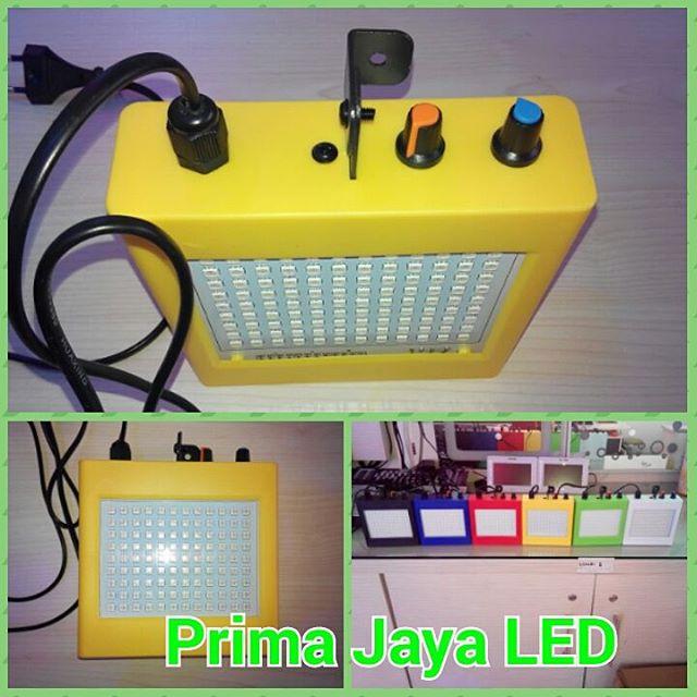 LED Flasher RGB Kotak Kuning