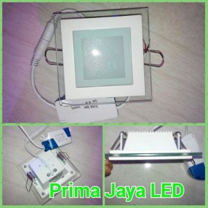Lampu Downlight Kaca LED 6 Watt