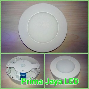 Downlight LED Outbo Bulat 6 Watt