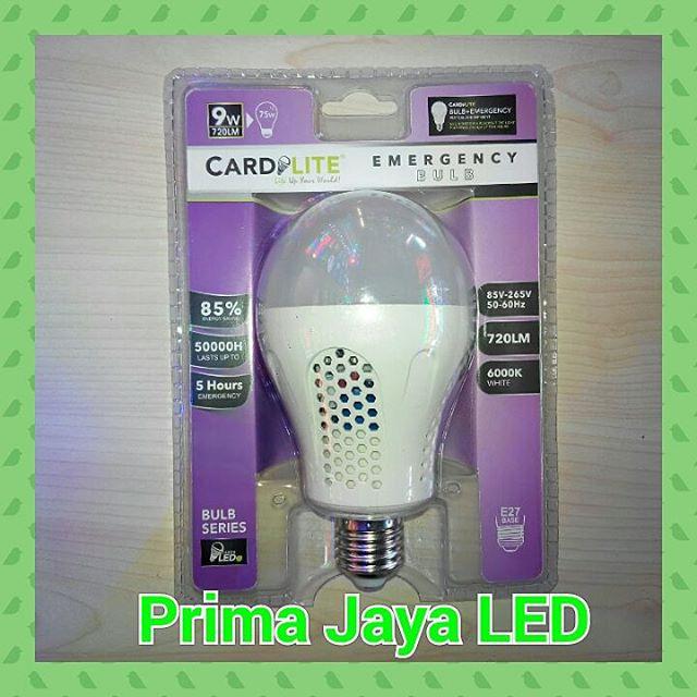 LED emergency Bohlam 9 Watt