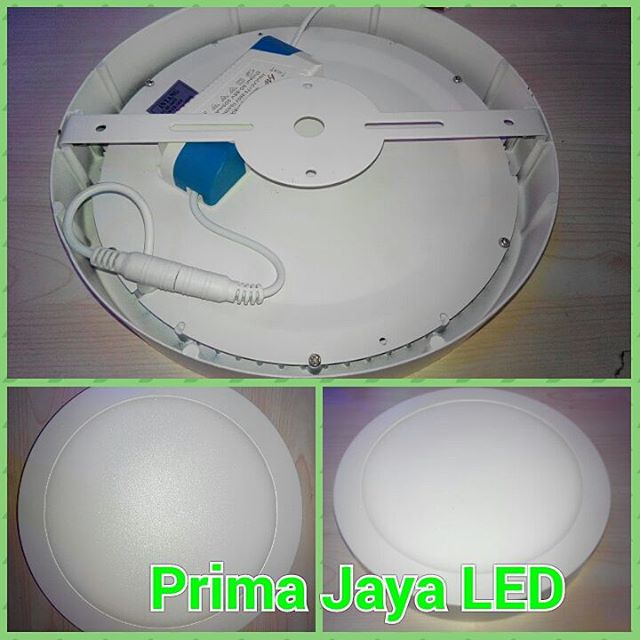 Outbo Panel LED Bulat 18 Watt