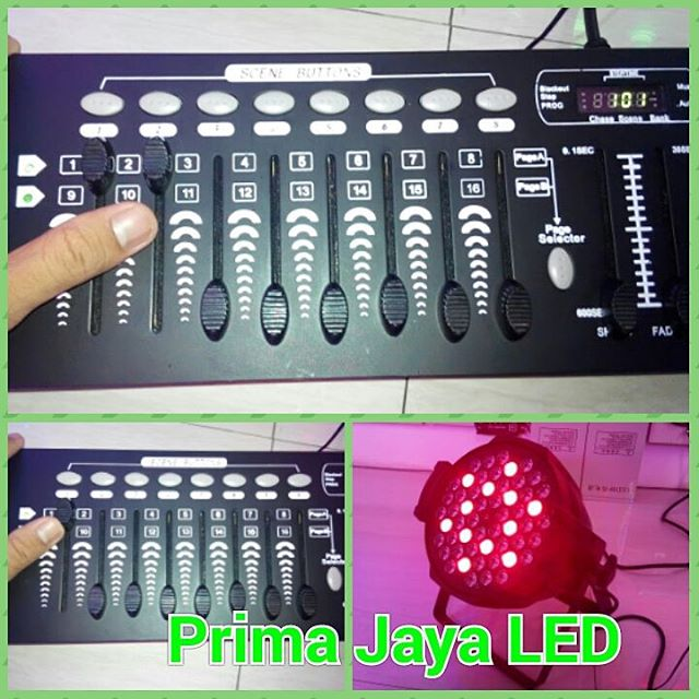 Tutorial DMX Mixer 192 5