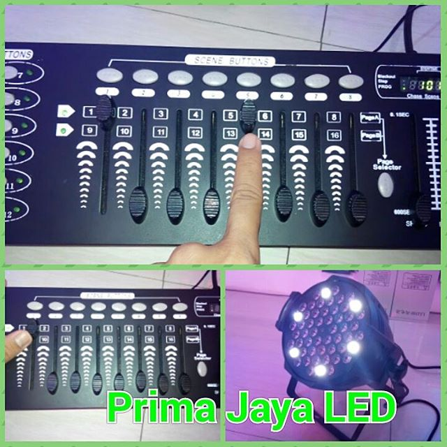 Tutorial DMX Mixer 192 8