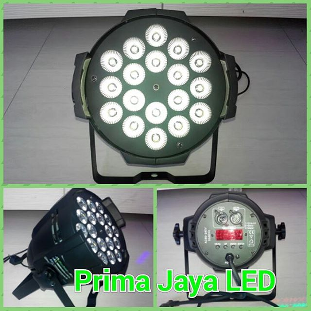 LED Par Spotlight 18 x 10 Watt RGB
