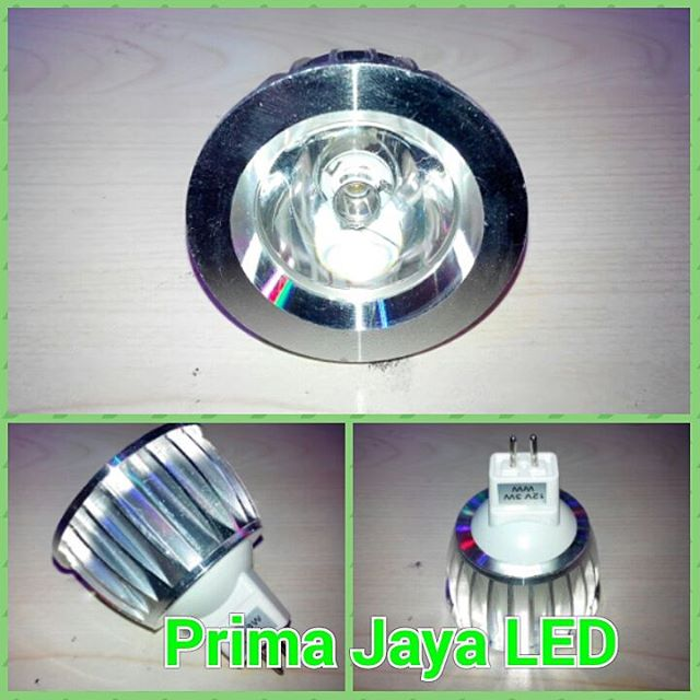 Lampu LED MR16 DC 12 Volt 3 Watt