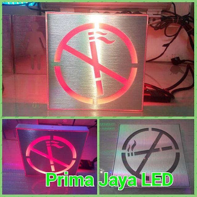 No Smoke LED Sign Kotak