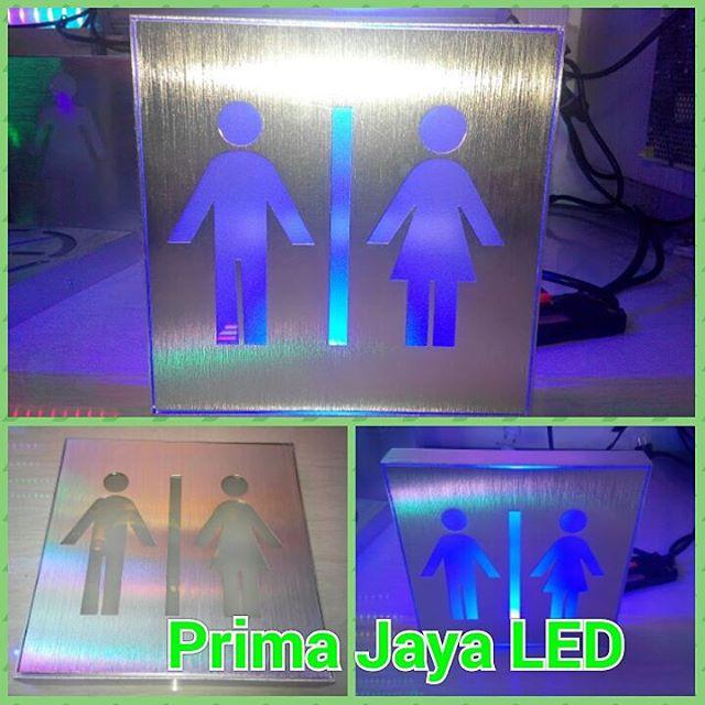 Sign Kotak Restroom LED 20cm
