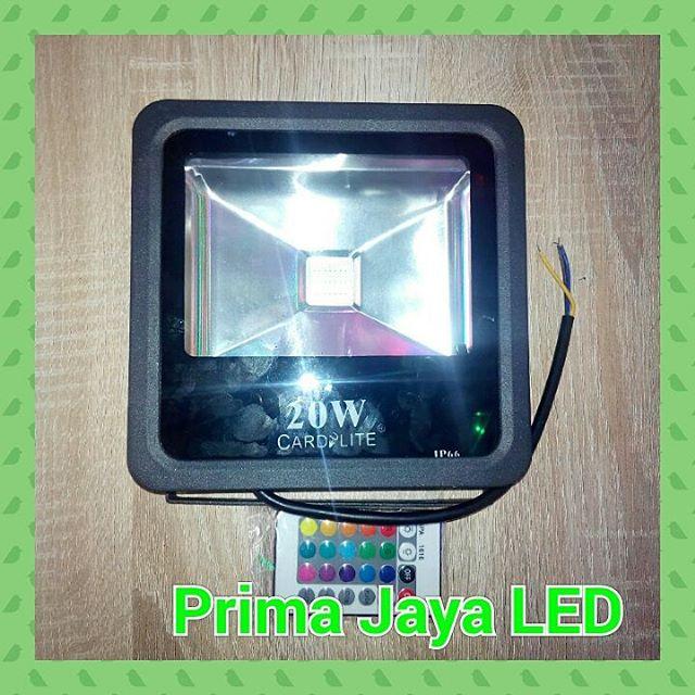 Cardilite Lampu tembak RGb 20 Watt