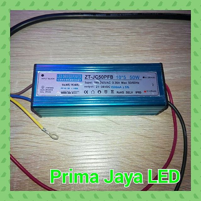 Driver Power Supply LED 50 Watt