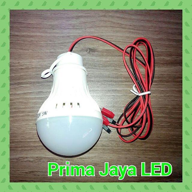 Lampu Aki DC 12 Volt 5 Watt