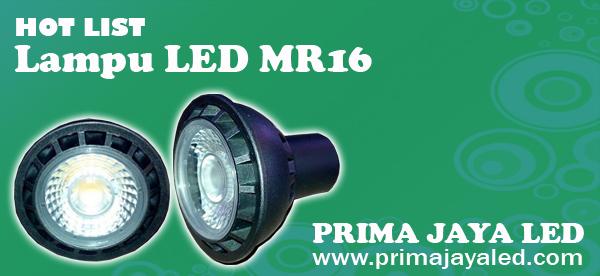 Hot List Lampu LED MR16