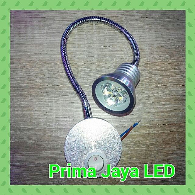 Lampu Belajar LED Flexible 3 Watt
