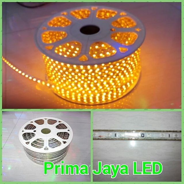 Lampu LED Flexible 5050 Kuning