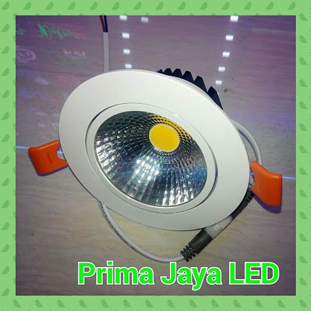 lampu downlight ceiling led 7 watt prima jaya led. Black Bedroom Furniture Sets. Home Design Ideas