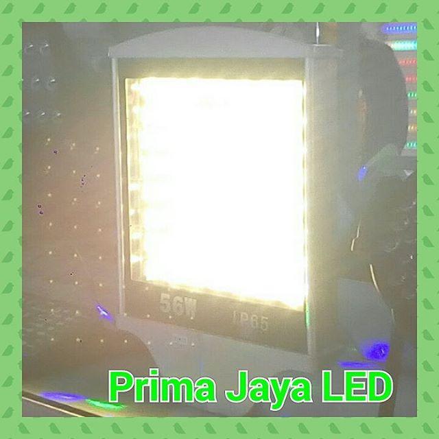 Lampu Jalan LED PJU Warm White