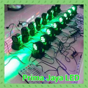 Moving mini Par LED