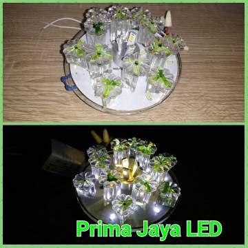 Downlight LED Bunga Hijau