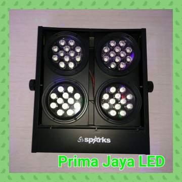 Lampu Mini Brute LED 4 Head
