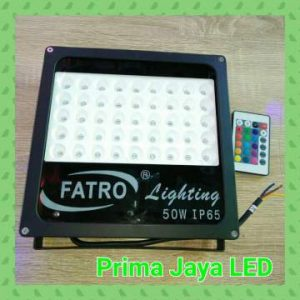 Lampu LED RGB Spotlight Fatro 50 Watt