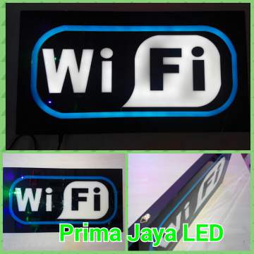 Lampu Petunjuk WIFI Sign LED