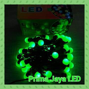 Lampu Twinkle LED Anggur Hijau