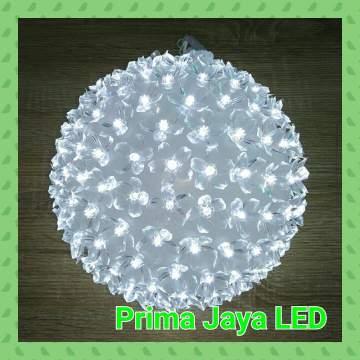 Bola Bunga LED 200 Light Putih