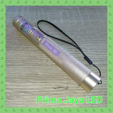 Laser Pointer Green 303 Body Emas