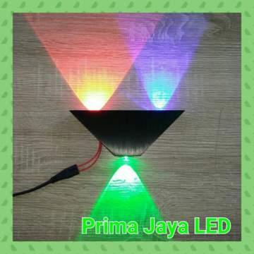 Led Wall RGB Sound 3 Watt 27033