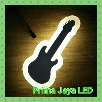 Led wall happy guitar 806