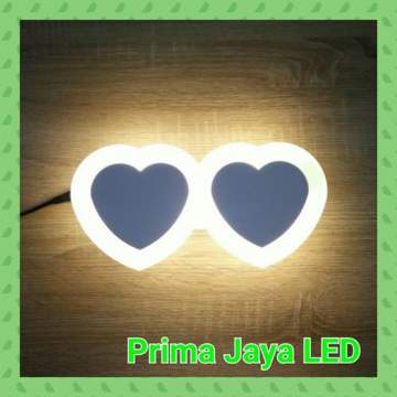 Led wall love double 8022