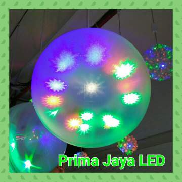 Magic Ball LED Motif RGB Salju