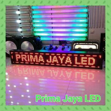 LED Display Running Teks Merah 133 x 21 cm