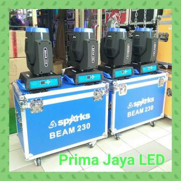 Paket New Moving Head Beam 230 Biru