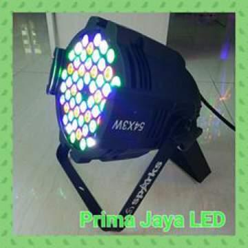 Par LED 54 x 3 Watt RGBW Body Bold