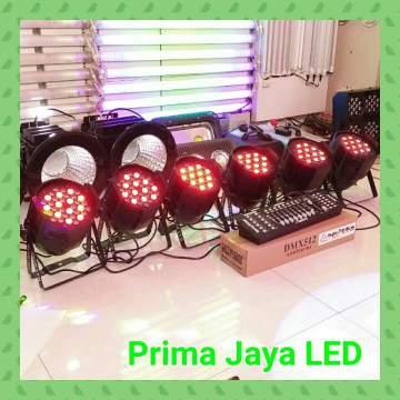Paket Par led 36 x 3watt RGB DMX 192