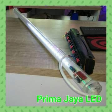 Lampu Meteor LED 80cm Putih