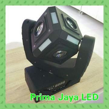 LED kubik Moving 60 Watt