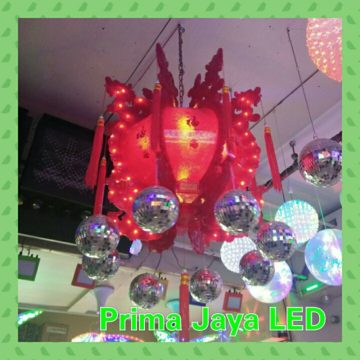 Lentera Disco Ball LED