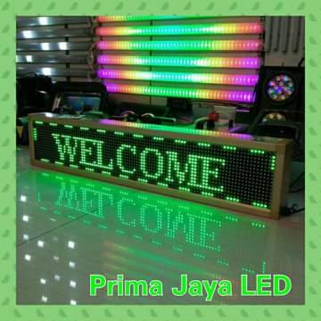 SMD Display LED 101 x 21 Hijau