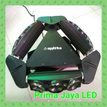 Spider LED 9 Mata