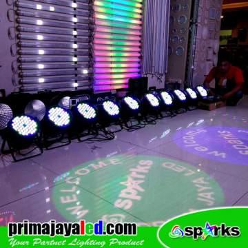 Paket 10 Par LED DMX