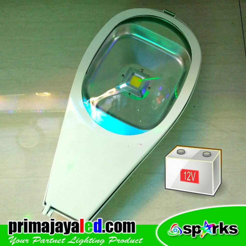 Lampu jalan LED 12V 50 Watt
