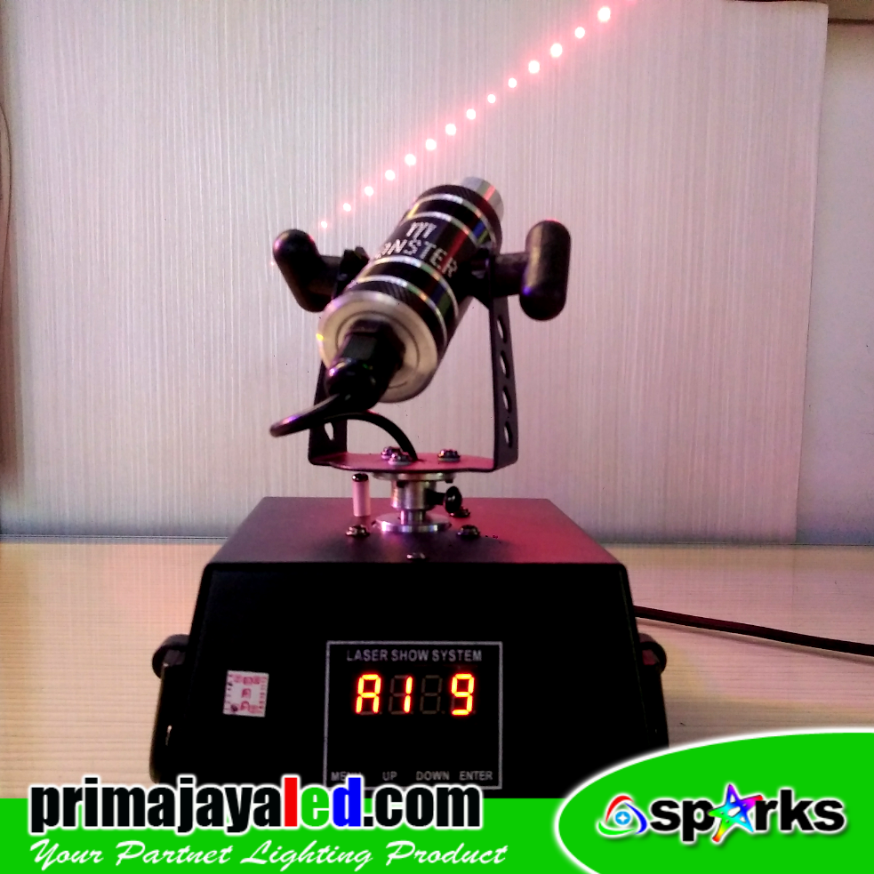 Laser Mini Moving Merah