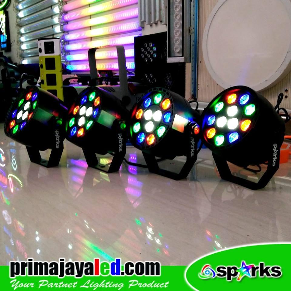 Paket 4 Mini Par 12 LED