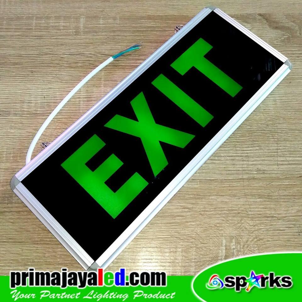 Sign Kaca Exit Murah